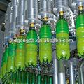 Carbonatadas garrafa de suco rinser - filler - capper monobloco