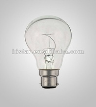 low volt rough incandescent light bulb shape lamp 42V 60W