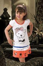 2015 Summer popular children's skirts, lovely girls' dress