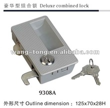 9308A deluxe combined cabinet lock