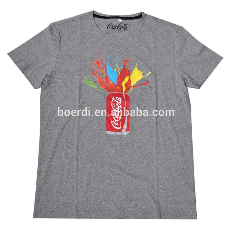 Hot sale new design digital printing recycled tshirts
