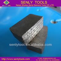 sharp & long lifetime diamond granite segment
