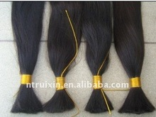 Virgin chinese remy raw hair bulk 8-34 inch large in stock