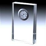 nice ,crystal gift ,crystal table clock crystal clock 2012