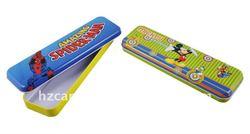 Zhejiang Hangzhou manufactured hot-selling rectangular student cool cheap tin pencil case
