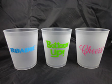 0.10USD/PC 450ml 16oz pp PLASTIC BEER CUP
