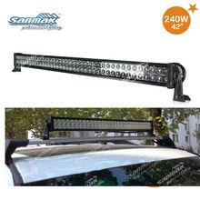 "42"" 240W LED lighting bar Black Color aluminum housing, auot led light SM6021-240"