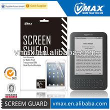 Anti glare full body screen protector / screen shield / Invisible shield for Amazon kindle 4 screen protector