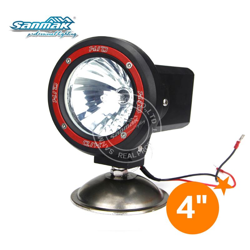"4""/7""/9"" ATV,moto,SUV, 4X4 off road, truck,trailer, snow bike HID work light xenon driving lamp SM3410"