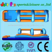32'L large Inflatable Slip n Slide double lanes,slip slide for kids and adult