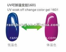 2012 Popular color changeable gel 16 series
