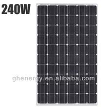 best price 240W Mono renewable energy Solar Panel Factory Direct
