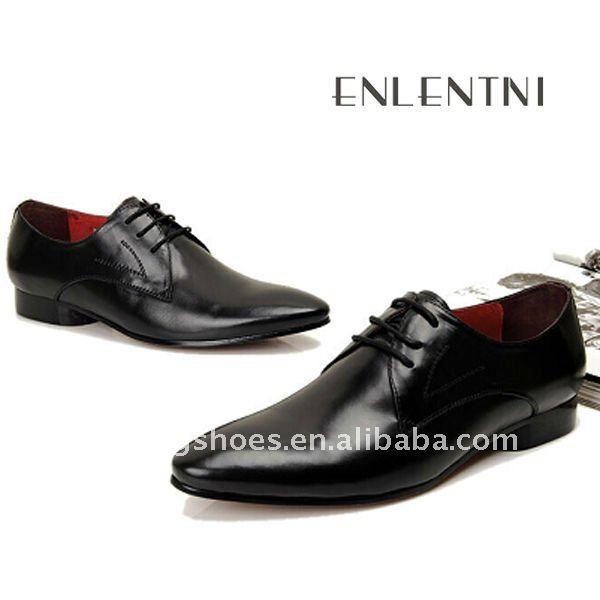 yeni model İtalyan erkekler için klasik ayakkabı