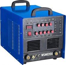 Energy-saving inverter ac dc pulse tig/mma welding machine WSME200