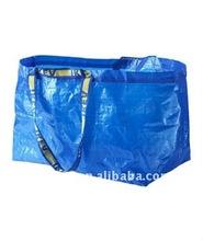 extral large laminated tote ikea bag