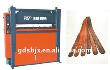 long leather strip embossing machine