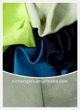 55%linen 45%cotton shirt/pants cheap linen cotton fabric