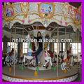 Parque exterior de atracciones! Musical carnaval paseo merry go round