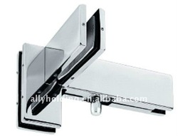 PT-025 for 8-12mm glass top door Patch Fitting/stainless steel and aluminum alloy patch fittings for glass door