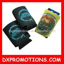 foldable beer can holder/neoprene cooler bag/promotional can cooler