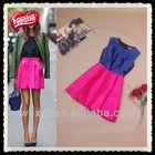 Women color combinations of dress 2013