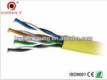 standard cat5e utp/ftp lan cable communication cable bare copper /cca/ccs conductor 4 P shenzhen factory