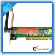 PCI Lan Card WIFI Wireless G 54 54Mbps Lan Network Adapter (CU020)