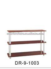 TV stand shelf design