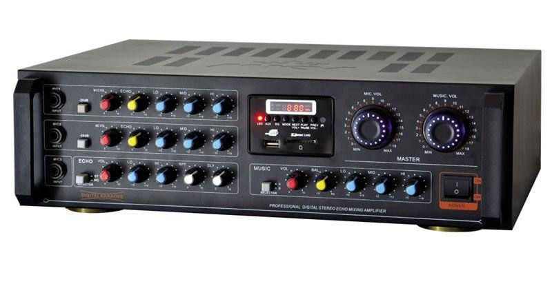 Tubo amplificador de potencia con usb/sd/fm