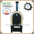 2014 rápida usada ao ar livre móveis de tijolo a lenha queimando pizza pizza forno fornos de pão árabe forno