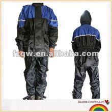 Qiaowei motobike jackets rain set motorcycle clothes