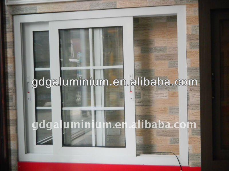 Profile Glass Sliding Aluminium Window With Mosquito Design  Buy  800 x 600