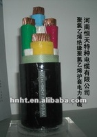 high quality, competitive price from cable factory, 0.6/1KV, 4-core, PVC insulated, PVC sheathed power cable
