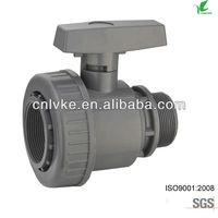 upvc agricultural irrigation valve,ball valve dn50 female male