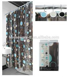shower curtain matching window curtain,waterproof fabric shower curtain