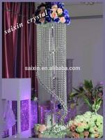 ZT-100D crystal flower stand wedding centerpiece and home decor