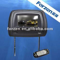 New 7 inch with IR headphone headrest car dvd player