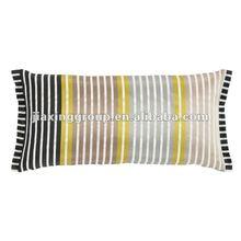 hot sell fashion Satin stripe weave cushion