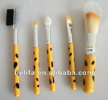 5 pcs makeup brush sets china china manufacturer made in china 2013 new products cosmetic