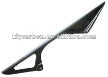 Carbon fiber motorcycle chain guard for Kawasaki