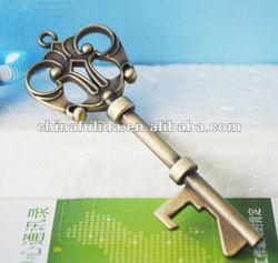 metal bronze Key bottle opener, brass opener, bronze bottle opener