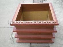 plastic wood composite garden edge