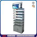 Tsd-m045 personalizado iluminado metal tabaco cigarro armário armário de exposição/cigarro venda rack/cigarro stand