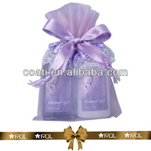 Organza Bag Shower Gel And Body Lotion