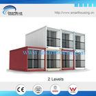 prefab container modular hotel design