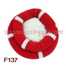 F137 Pet dog cat warm nest bed soft kennel puppy Winter Plush Fleece House Kennel Factory