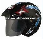 half helmets dot standard open face motorcycle helmets JX-B202