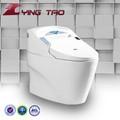 Cerámica electrónica higiénico de una sola pieza juego de sala muebles intelligentize armario asiento de inodoro inteligente