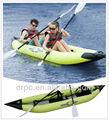 Aqua marina caiaque inflável/caiaque remo/barco a remo k1-bt88862/60