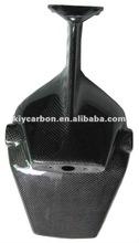 Carbon fiber plate holder for MV Agusta